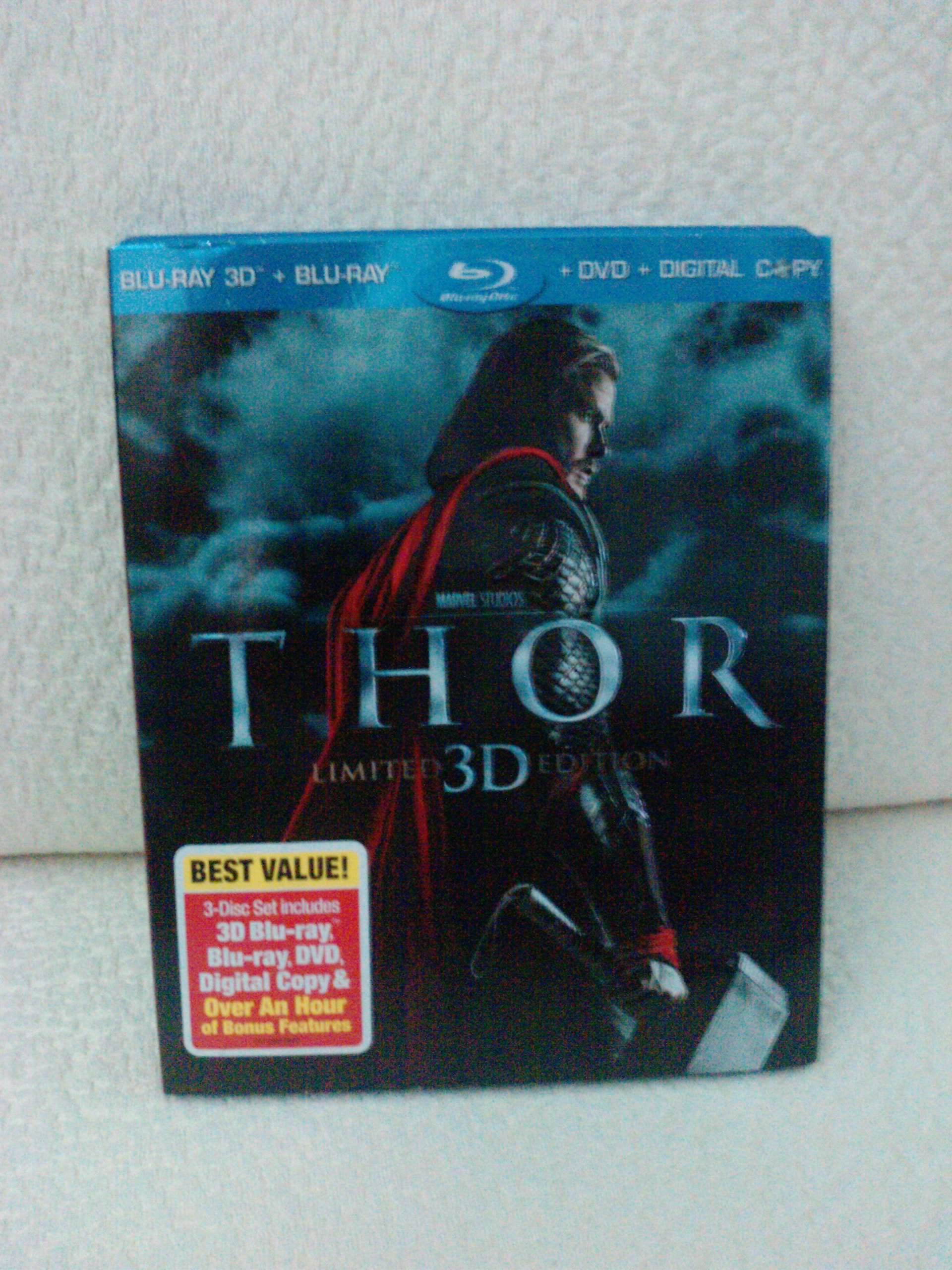 Thor blu ray 3d download